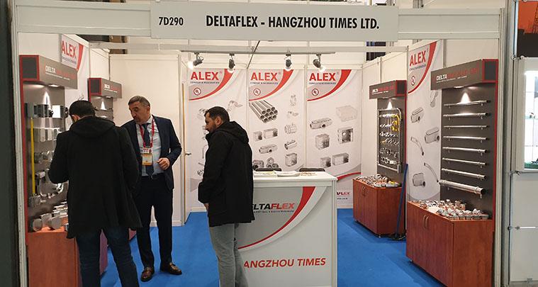 Türkiye temsilcisi olduğumuz ALEX EMT conduitlerin üreticisi HANGZHOU TIMES firması ile katıldığımız WIN EUROSIA 2019 fuarından görüntüler.